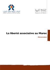 Mémorandum sur la liberté associative au Maroc